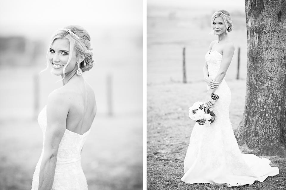 Texas Black and White Bride