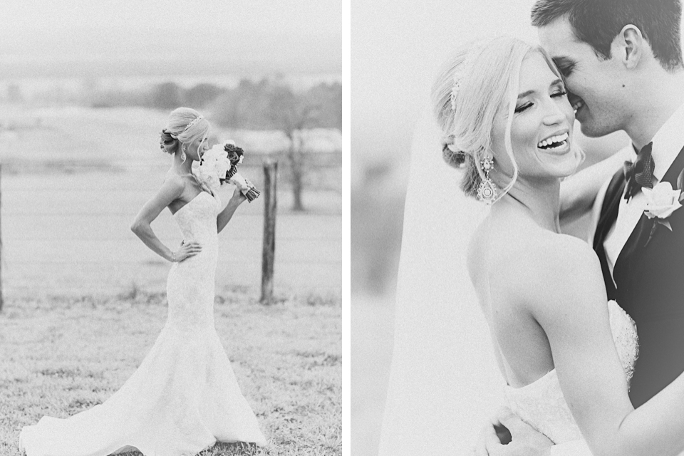 Texas Bride - Black + White