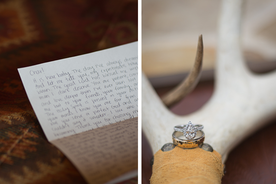 Texas Ranch Wedding - Ring Shot