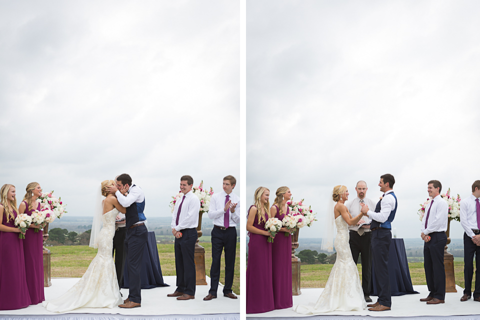 Wedding Kiss - Texas Ranch