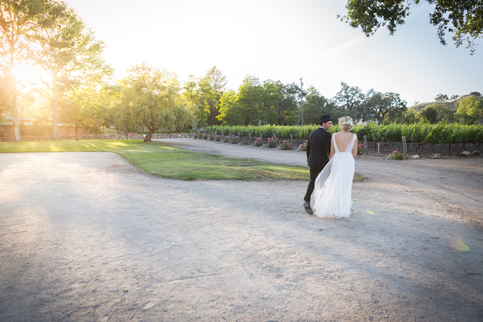 Valorie Darling Photography - Fess Parker Winery Wedding - Bridal portraits