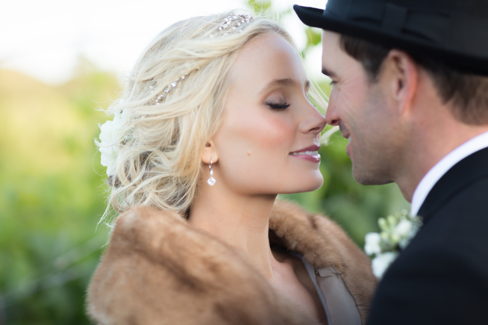 Valorie Darling Photography - Fess Parker Winery Wedding - Bride + Groom