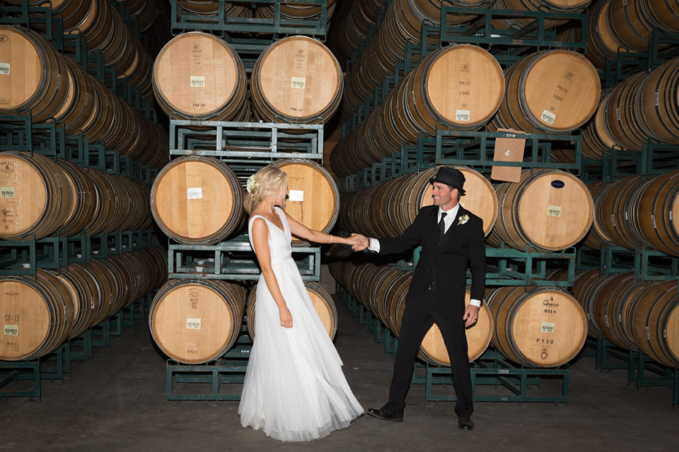 Valorie Darling Photography - Fess Parker Winery Wedding - first dance