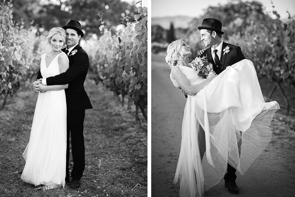 Valorie Darling Photography - Fess Parker Winery Wedding - Bride + Groom portraits