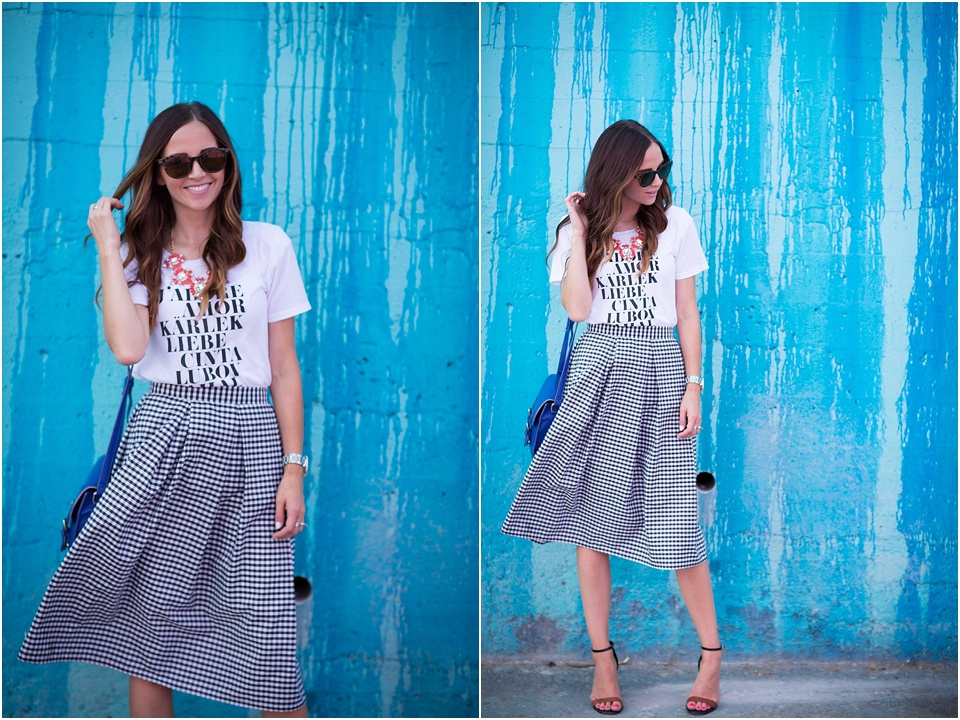 fashion, blogger, merricks art, downtown los angeles, blue wall, gingnam, lifestyle photographer