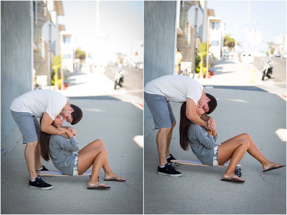 Manhattan Beach - Long boarding - Engagement Photos {Valorie Darling Photography} - 10328.jpg