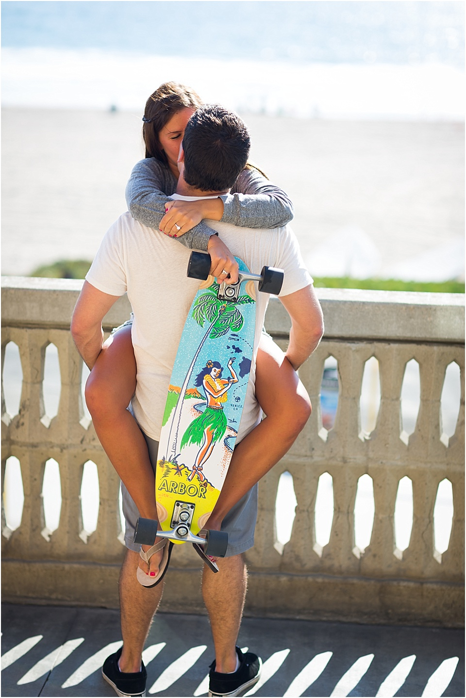 Manhattan Beach - Long boarding - Engagement Photos {Valorie Darling Photography} - 10353.jpg