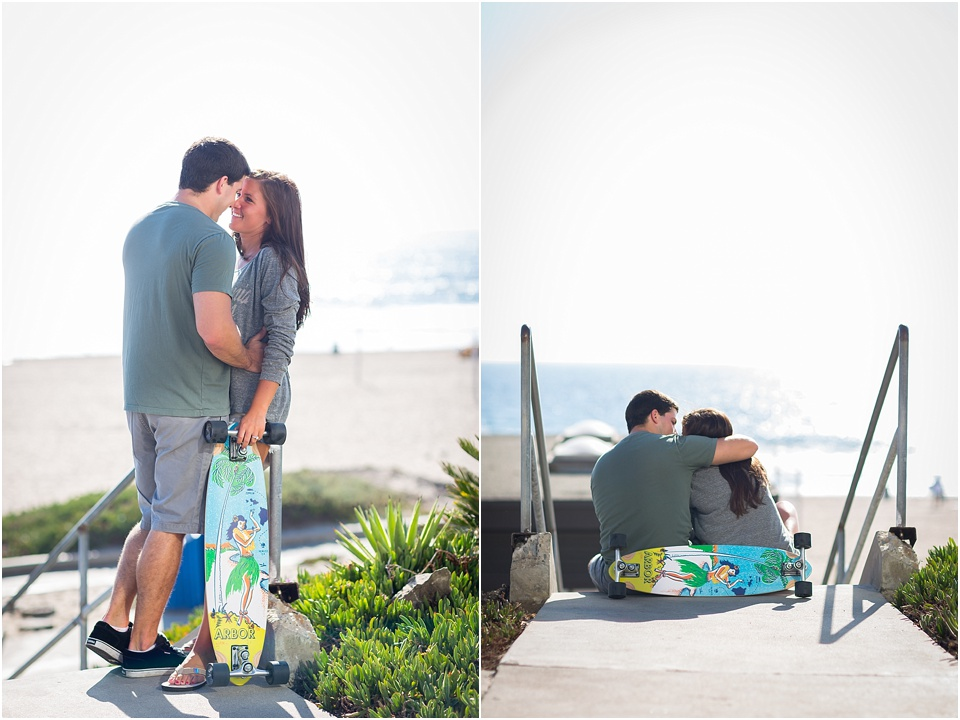 Manhattan Beach - Long boarding - Engagement Photos {Valorie Darling Photography} - 10358.jpg