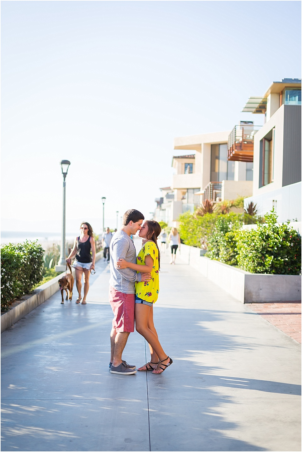 Manhattan Beach - Long boarding - Engagement Photos {Valorie Darling Photography} - 10450.jpg
