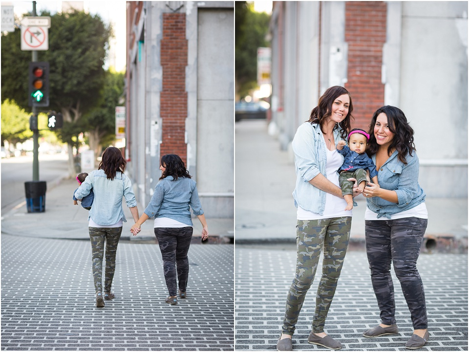 family, valorie darling photography, downtown los angeles, lbgt family, same sex couple