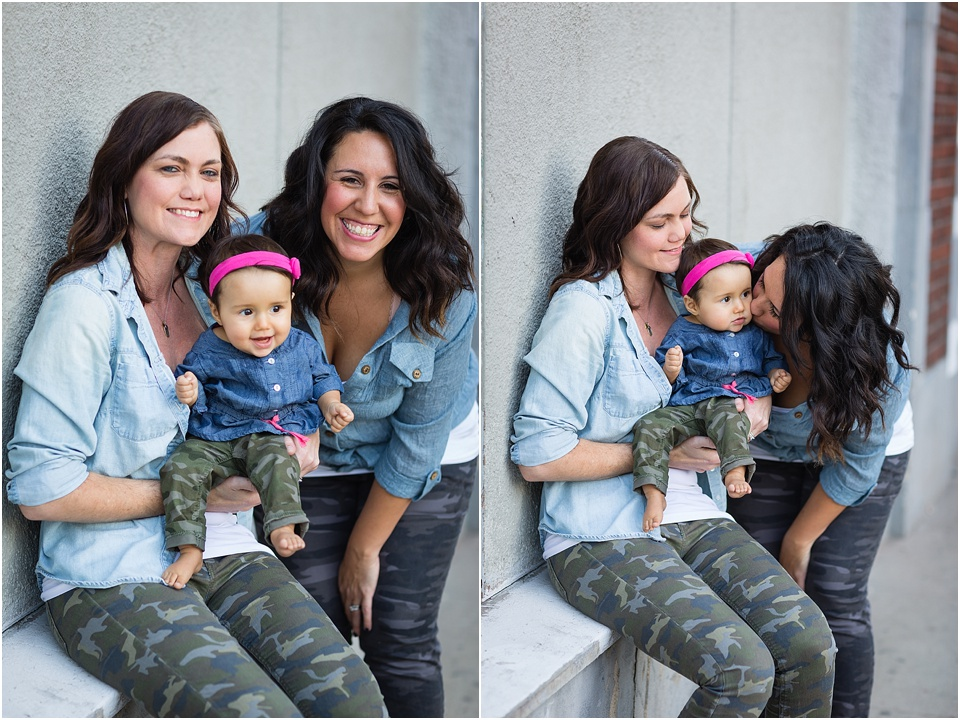 family, valorie darling photography, downtown los angeles, same sex family, lbgt family, same sex couple