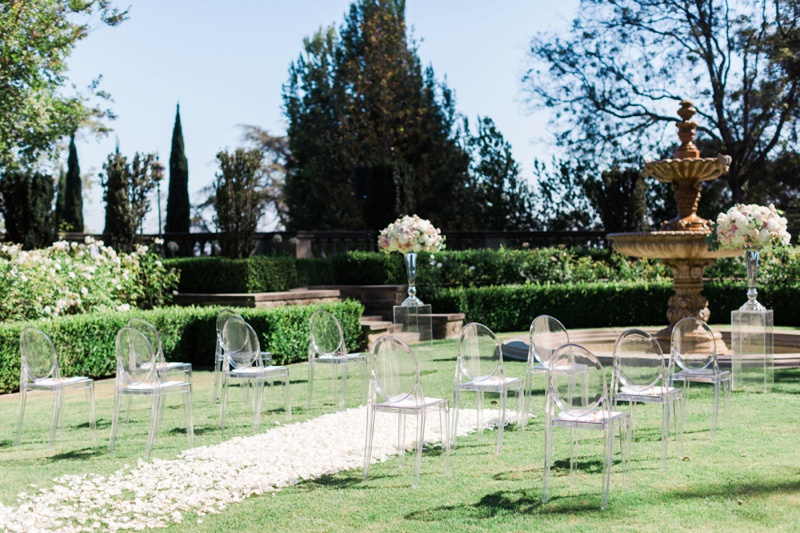 Greystone Mansion Wedding Ceremony